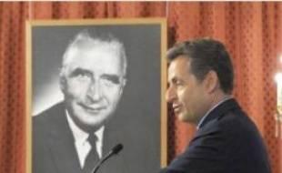 Nicolas Sarkozy, le 22 juin, à Paris.