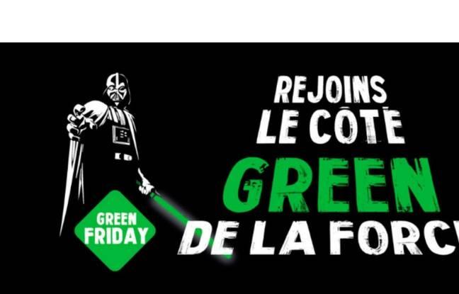 Le collectif Green Friday milite pour un vendredi plus vert...