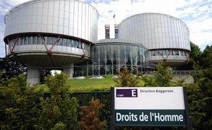 Vue de la Cour européenne des droits de l'homme à Strasbourg