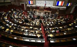 Session spéciale à l'Assemblée nationale dans le cadre de la COP21, le 5 décembre 2015