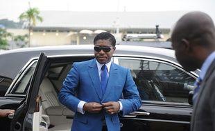 Teodoro Nguema Obiang Mongue, fils du président de la Guinée équatoriale, le 24 juin 2013.