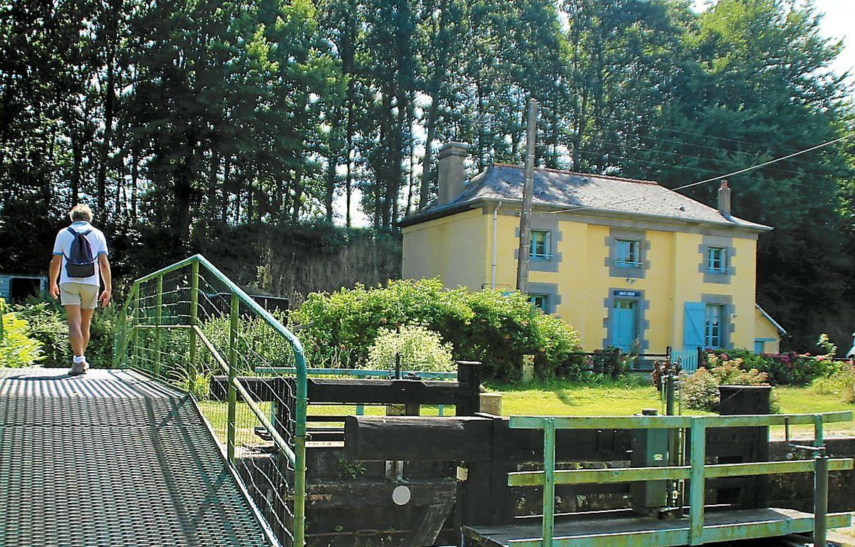 A Montreuil-sur-Ille, la maison éclusière Haute-Roche n'est plus utilisée. – C. Allain / APEI / 20 Minutes