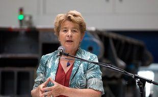 La présidente PS de la région Bourgogne-Franche-Comté, Marie-Guite Dufay.