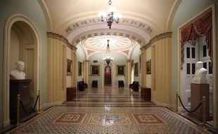 La chambre du Sénat à Washington (Illustration).