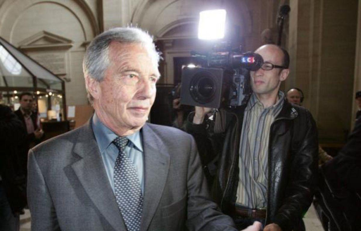 """Michel Giraud, considéré comme le """"père fondateur"""" de la région Ile-de-France, est mort dans la nuit de mercredi à jeudi à 82 ans, après une longue carrière au RPR d'élu local, député, sénateur et ministre, ternie à la fin par des condamnations en justice. – Jack Guez afp.com"""
