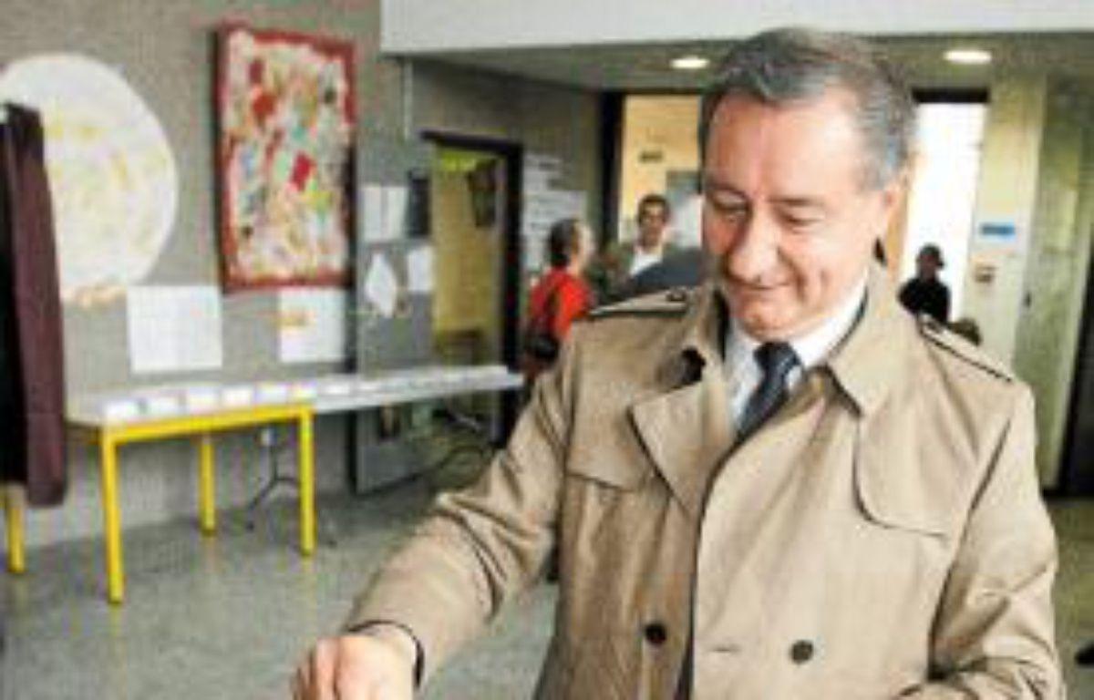 Jean-Luc Moudenc (UMP) a gagné avec 50,41% des voix. –  F. Scheiber/20 Minutes