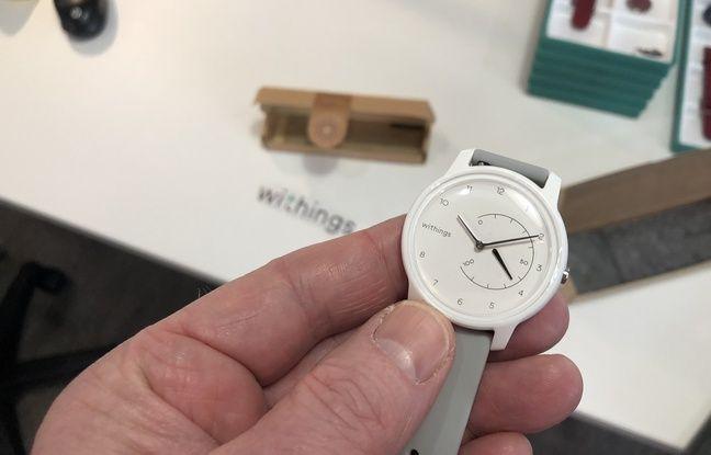 La montre Withings Move que nous avons personnalisée et commandée le lundi a été livrée le jeudi.