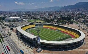 Le stade El Campin à Bogota.