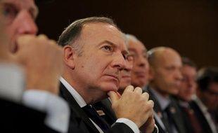 Le patron du Medef Pierre Gattaz le 24 septembre 2014 à Paris