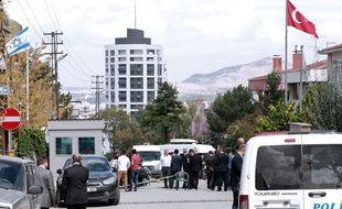L'ambassade d'Israël à Ankara, en Turquie