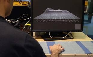 Le textile tactile du Projet Jacquard de Google.