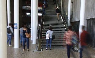 Montpellier, le 12 octobre 2017. La nouvelle faculté de médecine de Montpellier.  Crdit: LODI Franck/SIPA