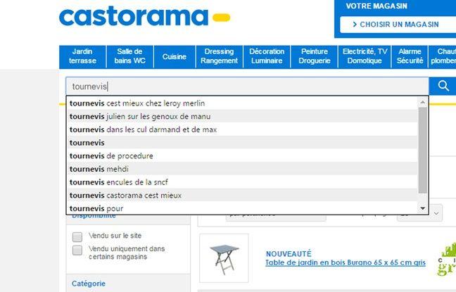 Capture écran site Castorama http://www.castorama.fr/store/ le 8 juin 2016