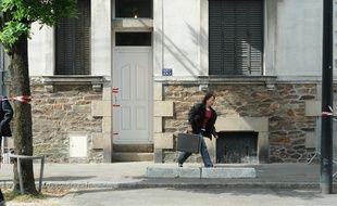 NANTES, le 21/04/2011 La maison qu'avait occupée la famille De Ligonnès est à vendre