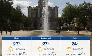 Météo Saint-Etienne: Prévisions du samedi 19 juin 2021