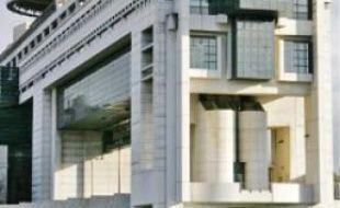 Le ministère de l'Economie, à Bercy, en 2010.