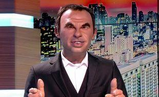 La marionnette de Nikos Aliagas dans «Les Guignols».