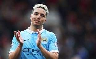 Samir Nasri face à Bournemouth, le 2 avril 2016