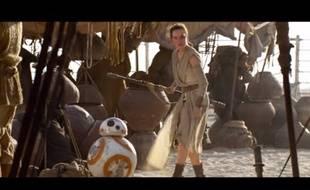 Extrait du premier spot publicitaire américain pour «Star Wars 7».