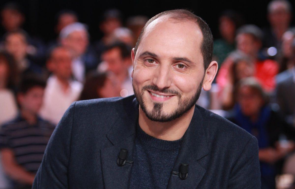Le journaliste Karim Rissouli sur le plateau de «L'Emission politique» de France 2. – Charlotte Schousboe