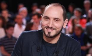Le journaliste Karim Rissouli sur le plateau de «L'Emission politique» de France 2.