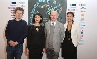 Michel Gondry, Fleur Pellerin, Jean-Paul Salomé et Isabelle Giordano présentent My French Film Festival