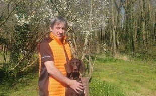 Laurent Laidez, éducateur comportementaliste canin.
