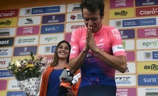 Victime d'une violente chute, Rigoberto Uran a dû abandonner la Vuelta.