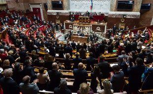 L'Assemblée Nationale, le 11 janvier 2017.