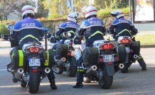 L'unité motocycliste du commissariat de Rennes compte 15 motards.