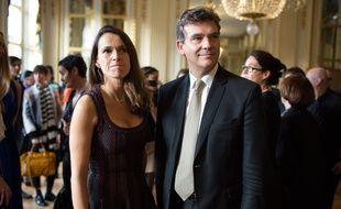 Aurélie Filippetti et Arnaud Montebourg en 2013.