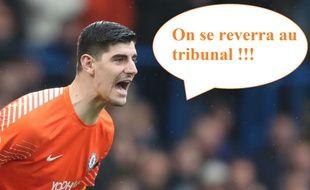 Thibaut Courtois n'est pas resté en bon termes avec son ancien sélectionneur.