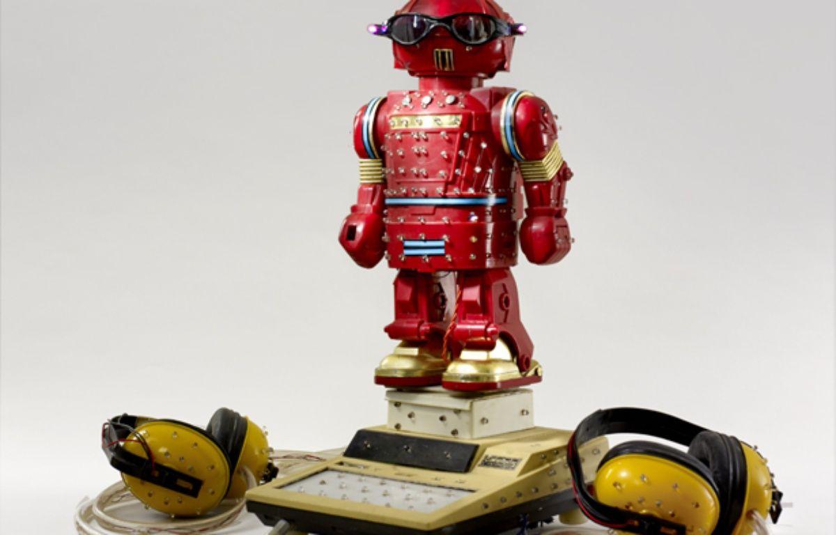 Robot de divination imaginé par l'artiste Bhaishyavani – MQB/Claude Germain