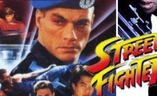 Les affiches des deux films adaptés du jeu vidéo Street Fighter