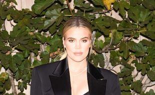 Khloé Kardashian le 14 novembre 2017 à Los Angeles.