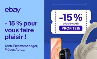 eBay vous offre 15% de réduction sur une sélection de produits high-techs.