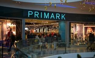 L'enseigne Irlandaise Primark ouvre sa première boutique à Lyon le 23 octobre 2015.