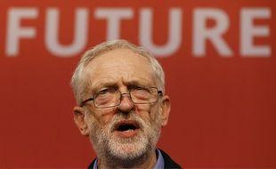 Jeremy Corbyn, le leader du Parti travailliste britannique, le 12 septembre 2015.