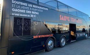 Le bus va sillonner le département des Bouches-du-Rhône