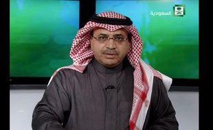 Capture d'écran de la TV saoudienne de l'annonce le 23 janvier 2015 de la mort du roi Abdallah