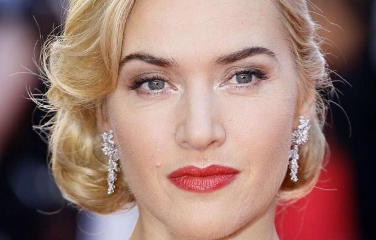 Kate Winslet lors de la première de Titanic 3D, à Londres, le 27 mars 2012. – Alastair Grant/AP/SIPA