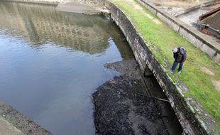 Le niveau de la Vilaine avait été abaissé en novembre 2018, à Rennes pour mener des travaux de maintenance.