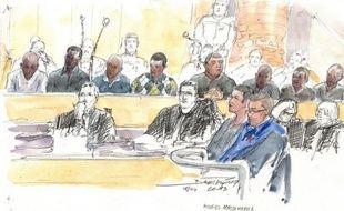 Huit jeunes ont été condamnés vendredi à Versailles à des peines de 5 à 20 ans de prison pour le meurtre de Mohamed Laidouni, battu à mort sous les yeux de sa famille sur l'autoroute A13 en juin 2010.