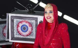 Katy Perry lors d'un concert, le 7 novembre à Los Angeles.