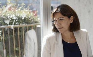 La maire de Paris, Anne Hidalgo, le 18 septembre 2014 à Paris