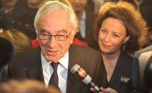 Martin Malvy, lors de son élection à la tête de la région Midi-Pyrénées, en 2010.
