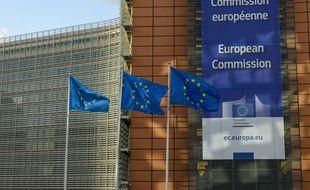 Illustration de la commission européenne à Bruxelles le 14 mars 2019