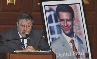Le docteur Judea Pearl, père du journaliste américain Daniel Pearl, en 2007 à Miami.
