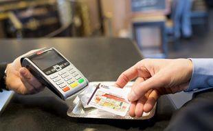 La carte à puce porte désormais vos titres-restaurant. Ici, celle du leader «Ticket restaurant»