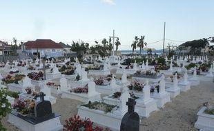 Johnny Hallyday a été inhumé au  cimetière de Lorient sur l'île de Saint-Barthélemy, le 11 décembre 2017.